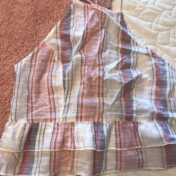 American Eagle Outfitters Other - Striped shirt and tank top set